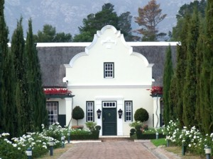 Cape Dutch Home Architecture Characteristics Sightseeing