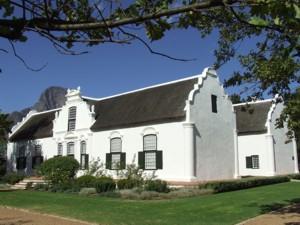 Frahschhoek Wine Farm Tour Route Cape Dutch Houses